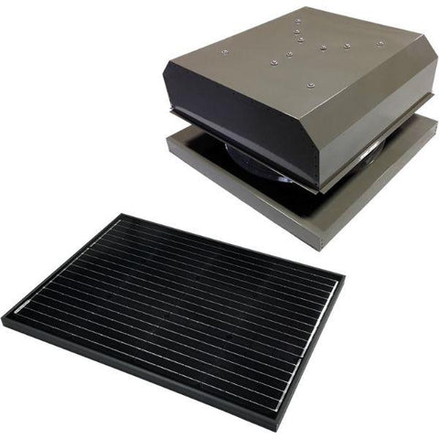 Image of Attic Breeze GEN 3 Curb Mount 65 Watt Detached Solar Attic Fan