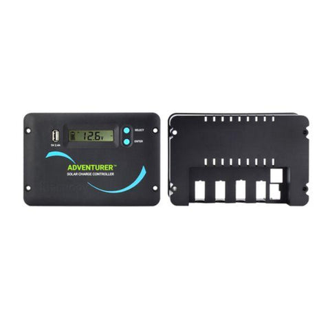 Image of Renogy Adventurer Li- 30A PWM Flush Mount Charge Controller w/ LCD Display