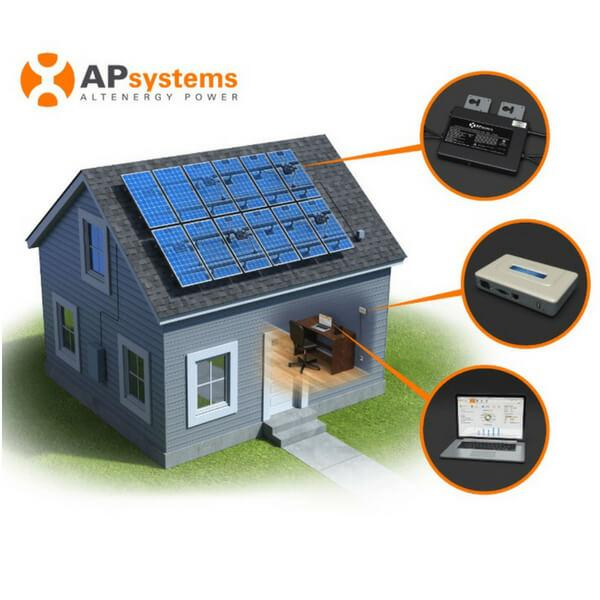 YC500i Microinverter from APsystems with EnergyMax