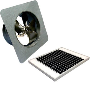 20 Watts Gable Mount GEN 2 Solar Attic Fans From Attic Breeze AB-2052