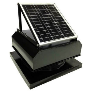 Attic Breeze GEN 2 Curb Mount 20W Attached Solar Attic Fan