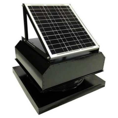 Image of Attic Breeze GEN 2 Curb Mount 20W Attached Solar Attic Fan