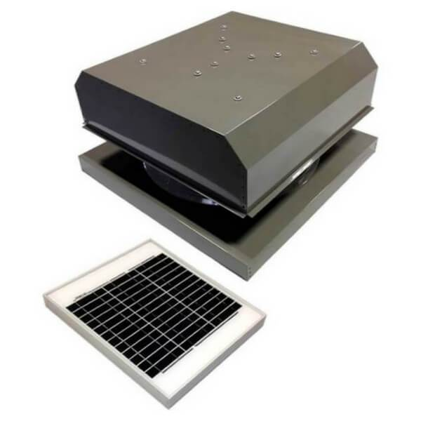 Attic Breeze GEN 2 Curb Mount 20W Detached Solar Attic Fan
