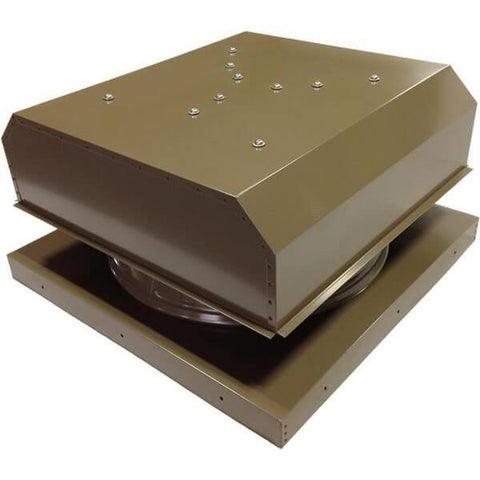 Image of Curb Mount 30 Watt Detached GEN 2 Solar Attic Fans From Attic Breeze AB-3042D - Shakewood