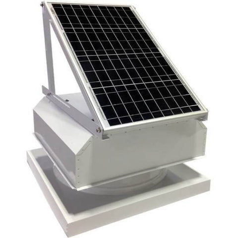 Curb Mount 40 Watt Attached GEN 2 Solar Attic Fans From Attic Breeze AB-4042A