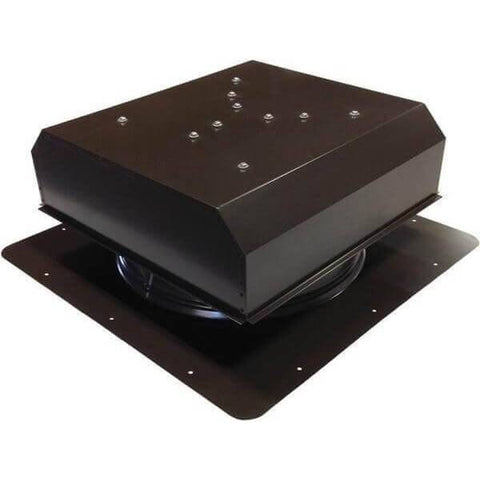 Image of Self-Flashing 20 Watt Detached GEN 2 Solar Attic Fans From Attic Breeze AB-2022D - Brown