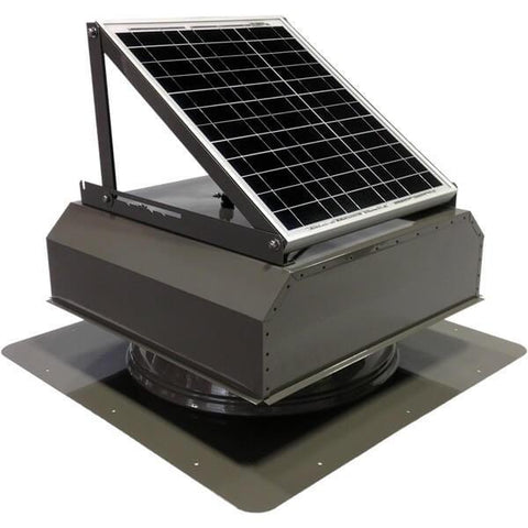 Image of Self-Flashing 30 Watt Attached GEN 2 Solar Attic Fans From Attic Breeze AB-3022A