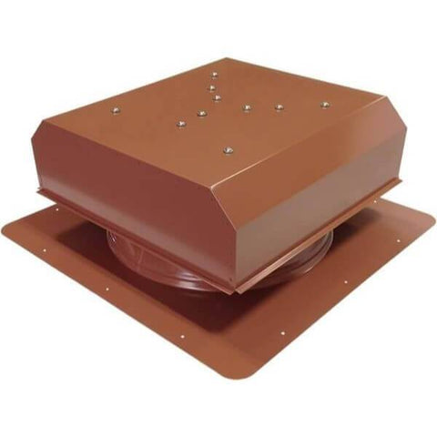 Image of Self-Flashing 30 Watt Detached GEN 2 Solar Attic Fans From Attic Breeze AB-3022D - Hickory