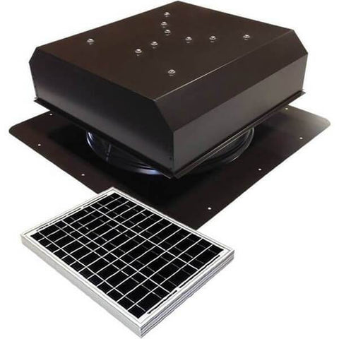 Self-Flashing 30 Watt Detached GEN 2 Solar Attic Fans From Attic Breeze AB-3022D