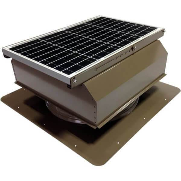 Self-Flashing 40 Watt Attached GEN 2 Solar Attic Fans From Attic Breeze AB-4022A - Shakewood