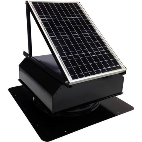 Self-Flashing 40 Watt Attached GEN 2 Solar Attic Fans From Attic Breeze AB-4022A
