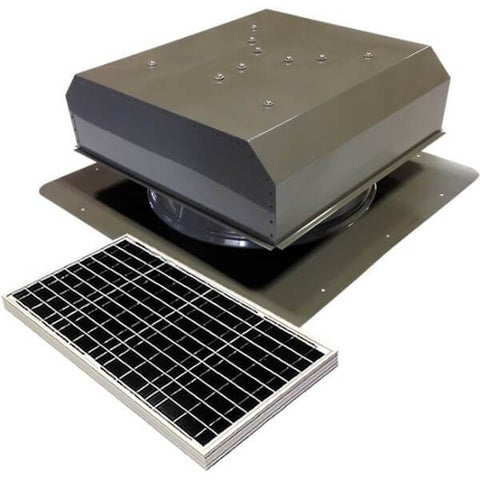 Image of Self-Flashing 40 Watt Detached GEN 2 Solar Attic Fans From Attic Breeze AB-4022D