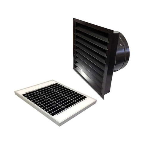 Image of 20 Watts Wall Mount GEN 2 Solar Attic Fans From Attic Breeze AB-2062