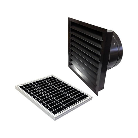 Image of 30 Watts Wall Mount GEN 2 Solar Attic Fans From Attic Breeze AB-3062