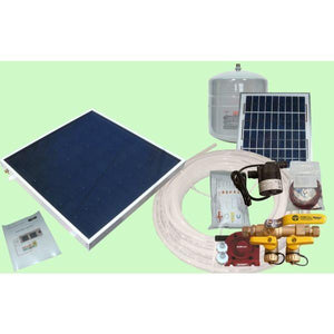 Heliatos Boat Freeze Protected Solar Water Heating Kit: With Built-In Heat Exchanger