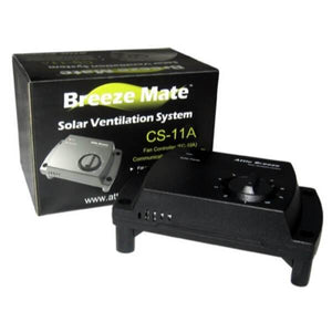 Attic Breeze Mate Solar Fan Controller - Self Flashing & Curb Mount Attached Models