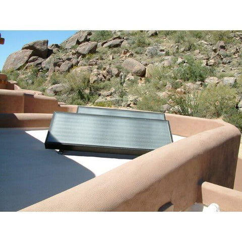 SunEarth CopperHeart Solar Water Heating System - 20 Gallons