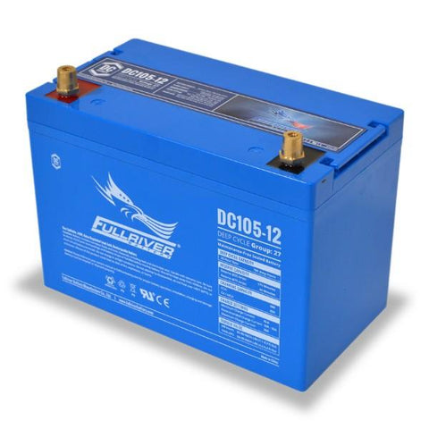 Fullriver 105Ah 12V AGM Sealed Lead Acid Battery