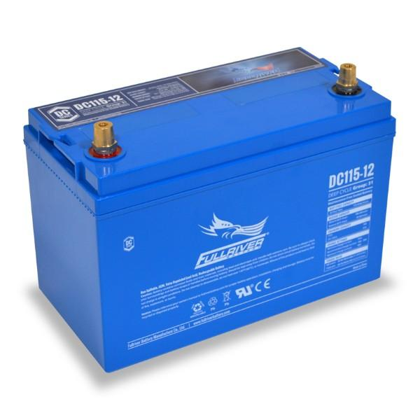 Fullriver 115Ah 12V AGM Sealed Lead Acid Battery