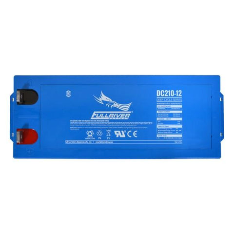 Image of Fullriver 210Ah 12V AGM Sealed Lead Acid Battery