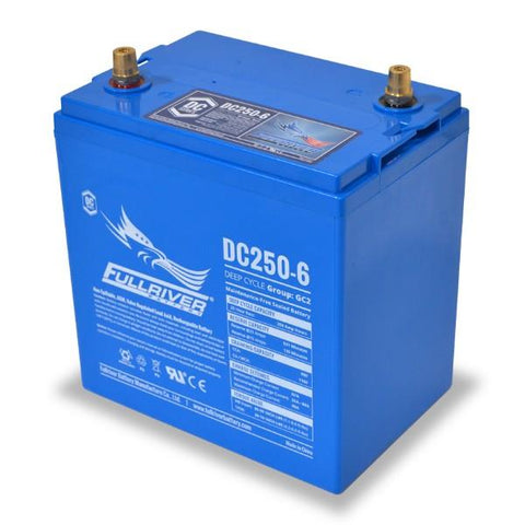 Fullriver 250Ah 6V AGM Sealed Lead Acid Battery