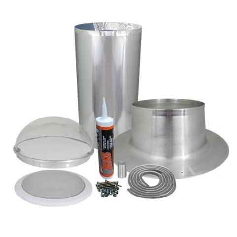 "Image of Elite Solar Tube Kit - 10"" Diameter with ONE 24"" Long Light Tube - Brightens 150 Sq Ft"