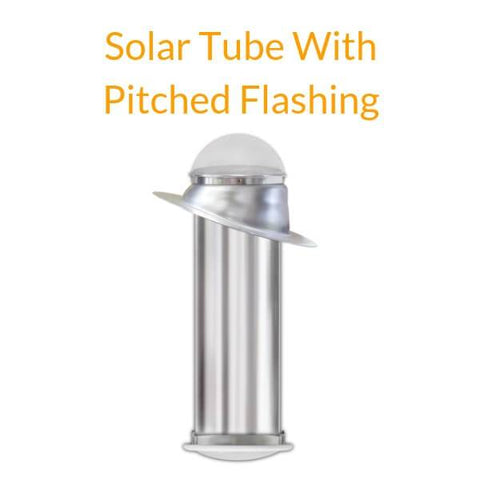 "Elite Solar Tube Kit - 10"" Diameter with TWO 24"" Long Light Tubes - Brightens 150 Sq Ft"