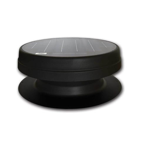 Image of Elite 20W Solar Attic Exhaust Fan Recessed Panel Top View
