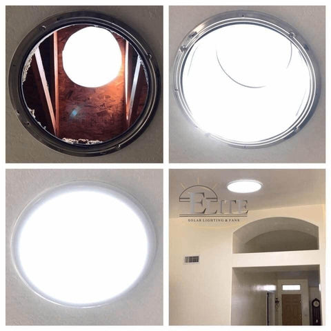 Image of Elite Solar Tubular Skylight on Ceiling