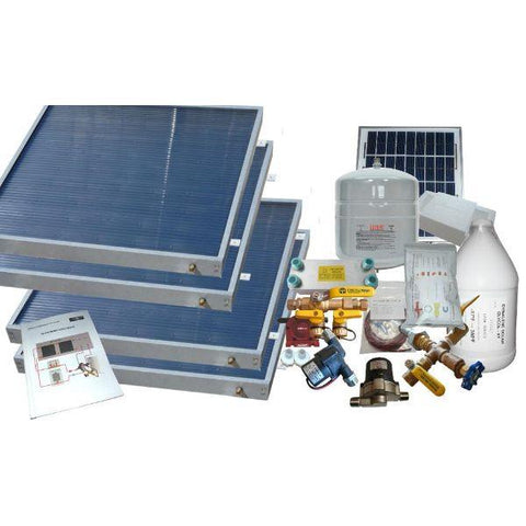 Heliatos Freeze Protected Solar Water Heater Kit