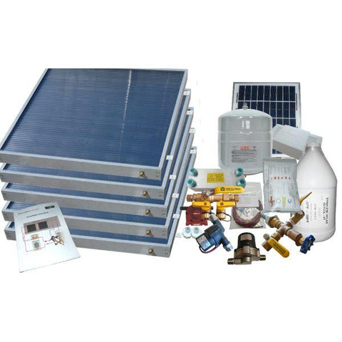 Image of Heliatos Freeze Protected Solar Water Heater Kit