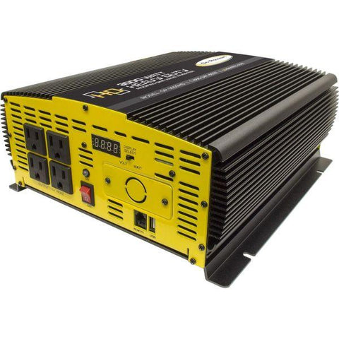 Go Power Heavy-Duty Modified Sine Wave Inverter 3000W 12V