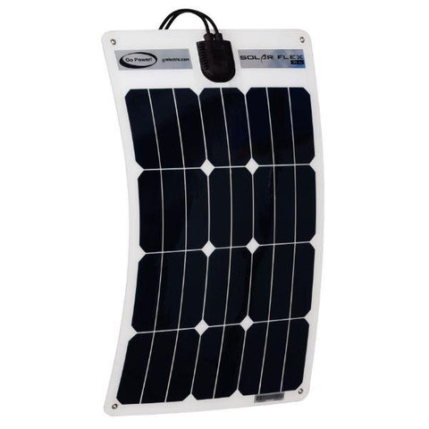 Go Power 30W Flexible Solar Kit