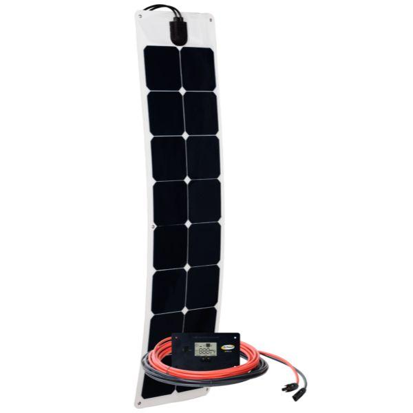 Go Power 50W Flexible Solar Kit