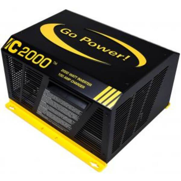 2000 Watts Pure Sine Wave Inverter-Charger with Automatic Transfer Switch from Go Power GP-IC-2000-12