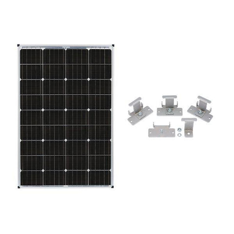 Image of Zamp Solar 115W Deluxe RV Roof Mounted Expansion Kit