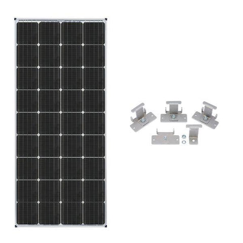 Image of Zamp Solar 170W Deluxe RV Roof Mounted Expansion Kit