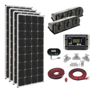 Zamp Solar 680W Deluxe RV Roof Mounted Solar Kit