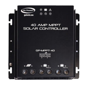 Go Power 40A MPPT Solar Controller With Remote