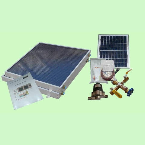 Image of Solar Water Heater System EZ-Connect Kit from Heliatos Solar