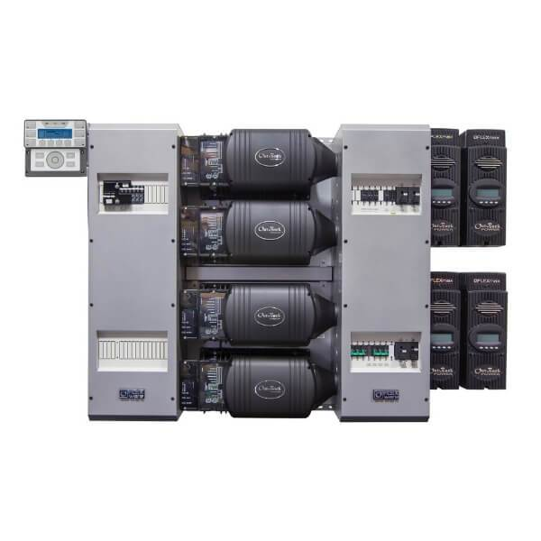OutBack Power FLEXpower FOUR 14.4kW 48Vdc Prewired Single-Inverter System