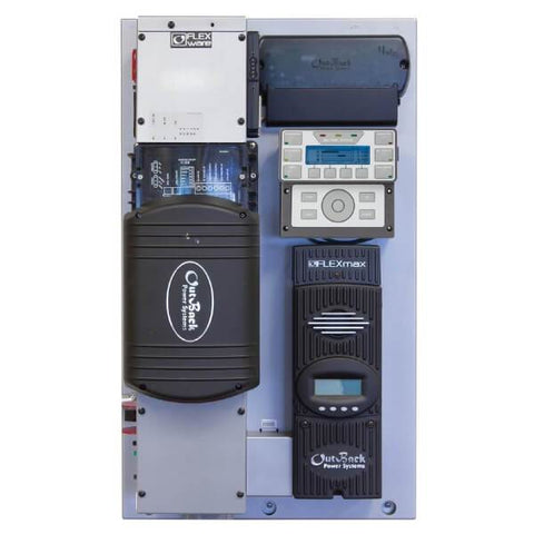 OutBack Power FLEXpower ONE 3.6kW 48Vdc Prewired Single-Inverter System
