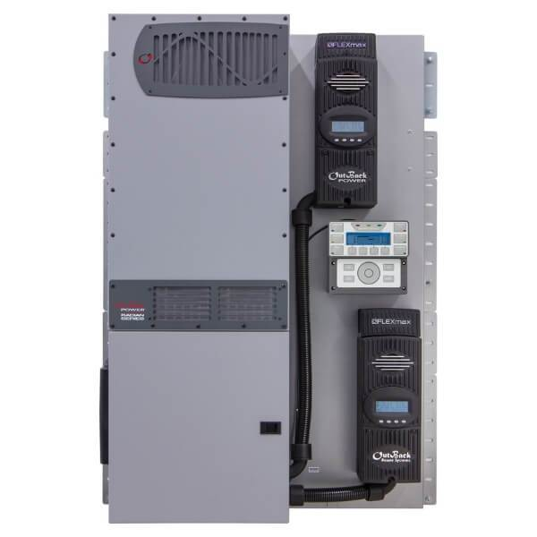OutBack Power FLEXpower Radian 8kW 48Vdc Fully Prewired Inverter System