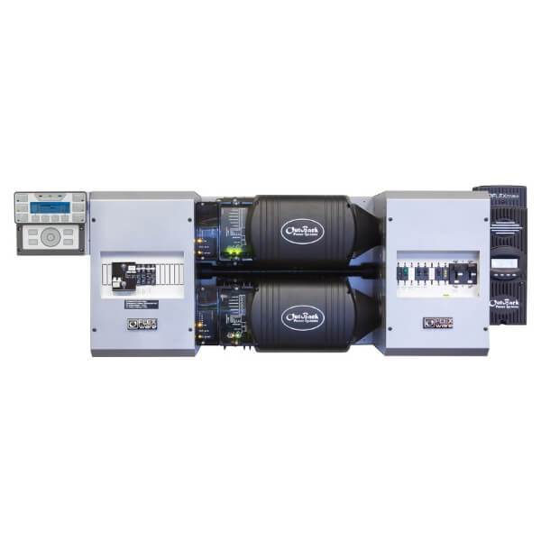 OutBack Power FLEXpower TWO 6 0kW 48Vdc Prewired Single-Inverter System