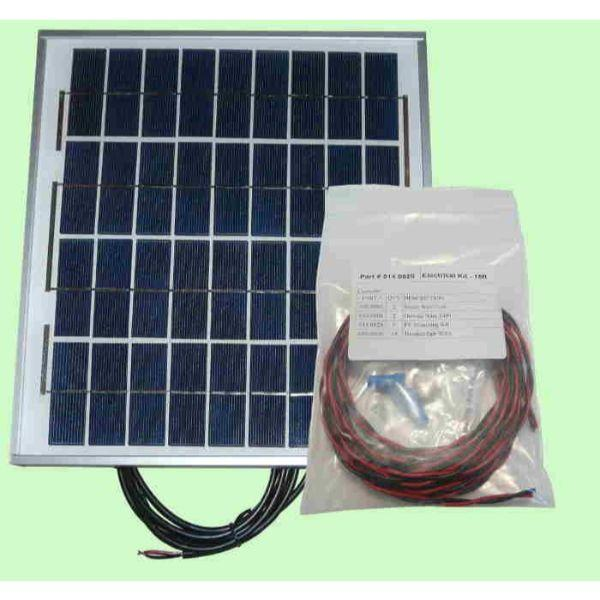 Heliatos RV Freeze Protected Solar Water Heating Kit: With External Heat Exchanger