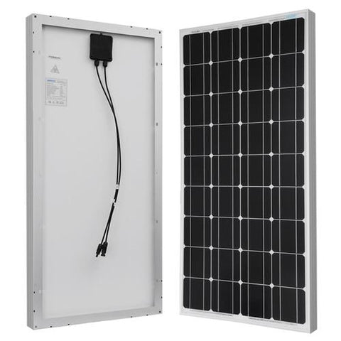 Image of 100W Monocrystalline Solar Panel From Renogy - 12V