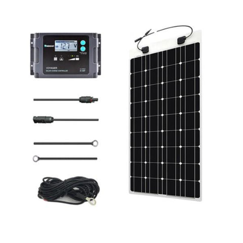 100W Solar Marine Kit From Renogy - 12V