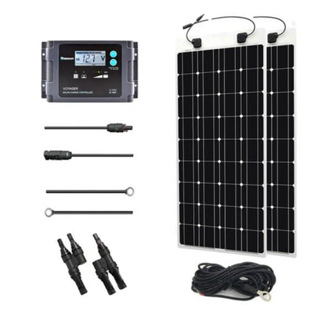 Image of 200W Solar Marine Kit From Renogy - 12V