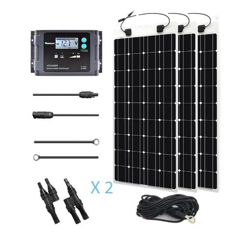 Image of 300W Solar Marine Kit From Renogy - 12V