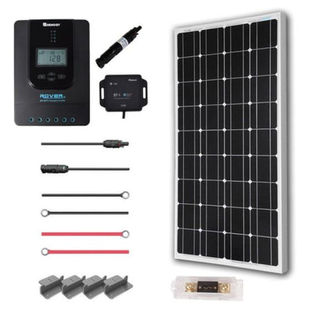 Image of Renogy New 100 Watt 12 Volt Solar Premium Kit (MONO)